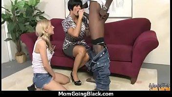 handsome fantastic mommy getting ebony rock.