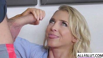 Blonde Alix loves riding Chad huge cock - ALL4SLUT.COM