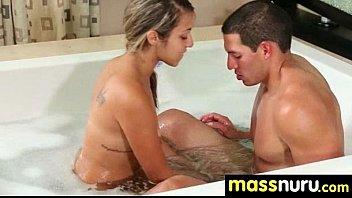 Babe Fires Nuru Massage 12