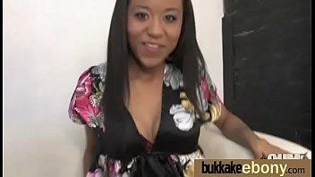 Hot Ebony Gangbang Fun Interracial 24