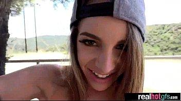 Teen Girlfriend (kimmy granger) Bang Hard Style On Camera mov-19