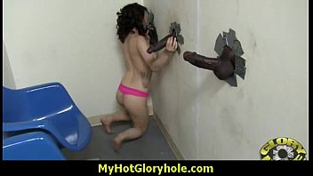 Gloryhole blowjob interracial amateur 27