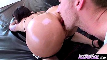 Deep Anal Sex Treat With Slut Big Butt Oiled Girl (dollie darko) clip-14
