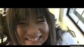 Busty Asian Maid Teen Takes Bath