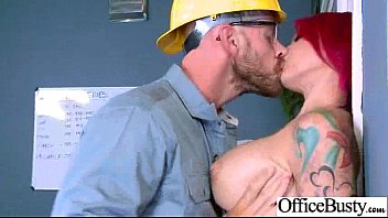 Sexy Horny Girl (anna bell peaks) With Big Tits Riding Cock In Office movie-04