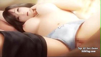 Big Tits Wife 3D Hentai Fuck