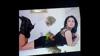 indian actress cumshort