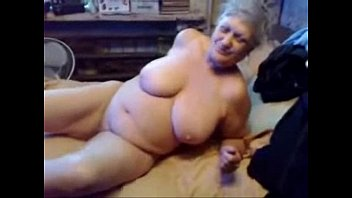 exhibitionist mega-bitch grannie likes to be.
