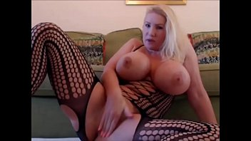Blonde Milf Showing Her Pussy