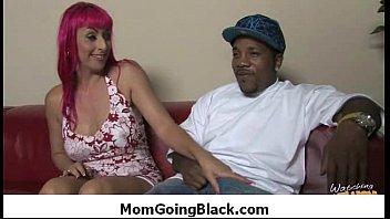 Amateur milf having interracial sex at home 31