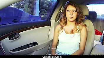 Car sex teen hitchhiker hardcore pounded 24