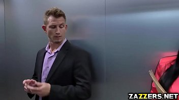 Peta Jensen sucks Bill Baileys big cock deep throat
