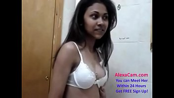 horny Indian desi cute teen gets ready for action part (18)