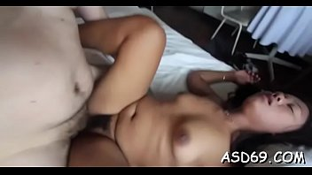 Asian girl with a tiny body likes all kinds of hardcore