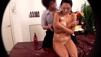 Japanese shy topless massage - Looking for the full video