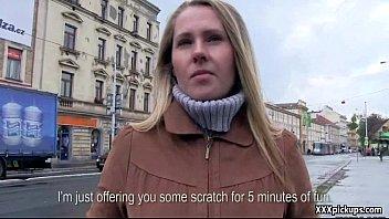 Sexy Slut Czech Teen Picked Up And Fucks In Public 35