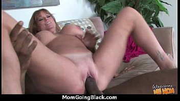 fantastic mother with perky cooch pummel a dark-hued.