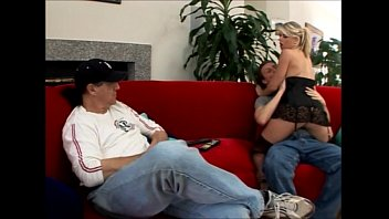 scorching blond wifey vicky vette coerces her spouse.