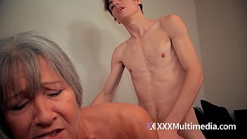 GILF step mom fucks step son