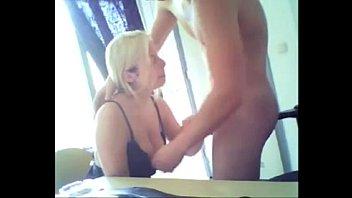 Webcam Blowjob couple blonde gf suck -tinycam.org