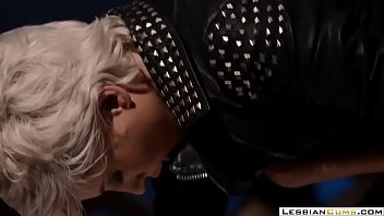 lesbiancumscom  nasty girl-on-girl domina rock hard strapon ravage