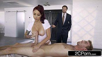 bored housewife monique alexander sets up crazy home spa