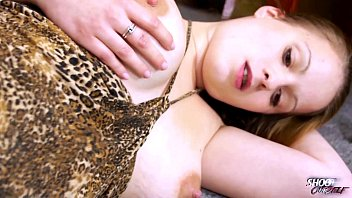 ShootOurSelf Oiled big tits &amp_ fucked tight horny pussy thats what blonde love