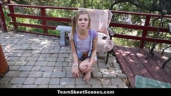 Tiny Teen Babysitter Rachel James