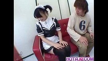 yuki hoshino likes fucktoys down her insolent vagina.