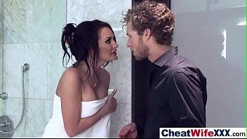 Cheating Housewife (alektra nina) Get Nailed Hardcore video-02