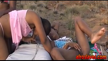 African interracial orgy hot and outdoorit-ass-1