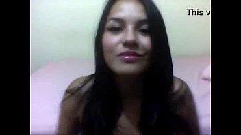 Morena gostosa pelada na webcam