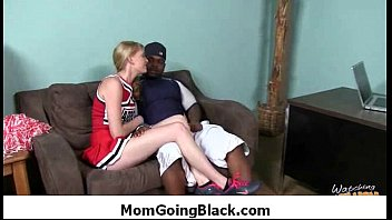 stiff-core interracial cougar hookup - xxl dark-hued monster.