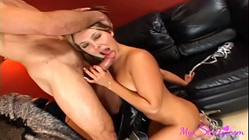 kinky hotwife wifey strokes while waits for her paramour