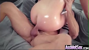 Hard Deep Anal Sex With Big Oiled Ass Girl (Maddy Oreilly) clip-25