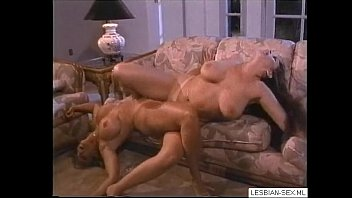 05 Blonde and brunette lesbians suck and rub pussies together on couch2-More on LESBIAN-SEX.ML