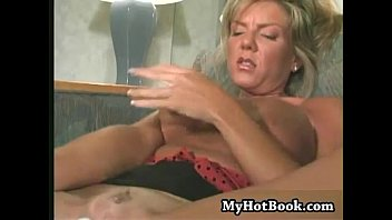 Watching the blonde haired MILF Jacqueline  will h