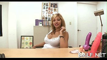 Sultry milf favors a chap with a deep blowjob and riding