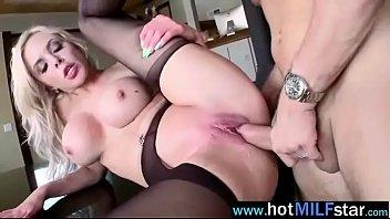 (nina elle) Nasty Horny Milf Banged By Big Hard Long Cock Stud Clip-24