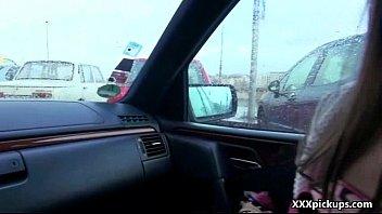 public pickups - fledgling czech nubile lady pulverizes.