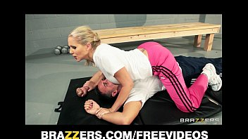 domineering silver-blonde trainer julia ann gets a excellent.