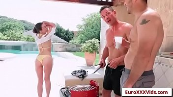 Euro XXX Party - Double Dicking Doll with Tiffany Doll sex party video-01