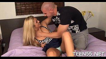 nasty teenie tempts her friend039_s daddy to slap.