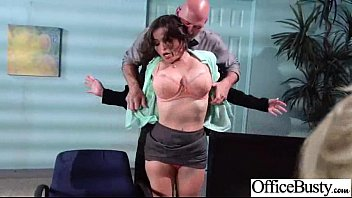 Big Melon Round Tits Girl Get Sex In Office movie-16