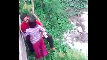 youthfull bengali duo outdoorfucking record by covert web cam-mc