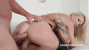 Double Anal Creampies Alina Long Gets Anal, DP, first DAP and Creampie GL018
