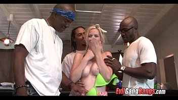 Tons of black cock for white girl 007