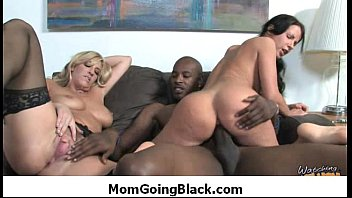 Mom go black - Interracial hardcore sex 37