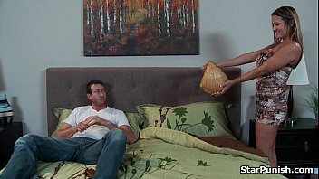 Dude fucks his sexy babe'_s ass on the sofa-part-01