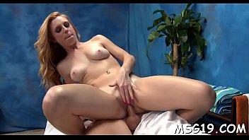 nice masseuse showcases off figure